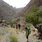 tsarap chu river canyon hike