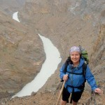 tsarap chu zanskar canyon view