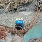 tsarap chu river zanskar river crossing