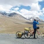 biking near tsarap chu zanskar
