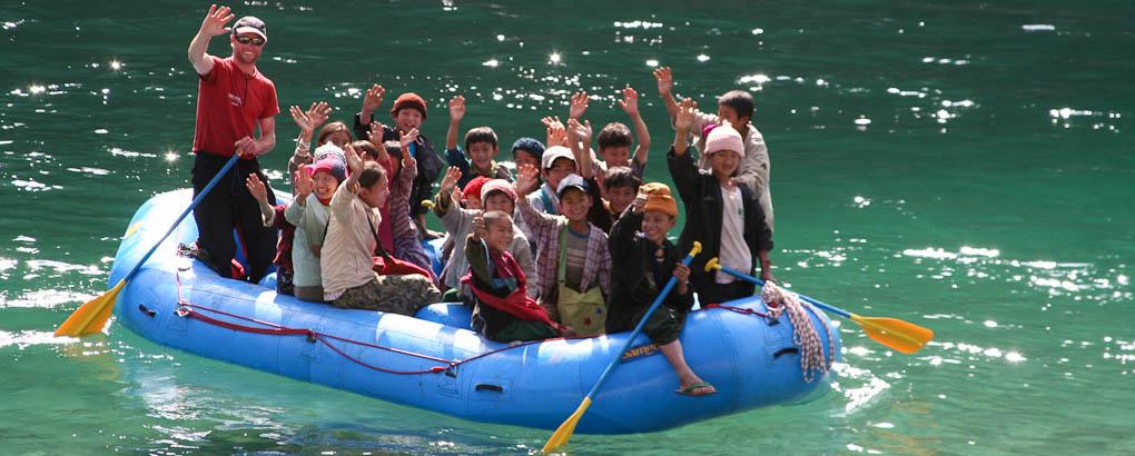 Maykha river myanmar burma rafting trip