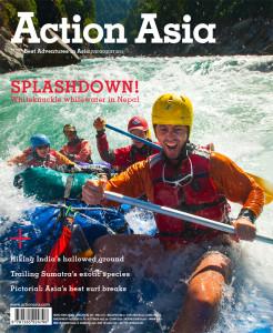 Whitewater asia rafting karnali alex treadway action asia cover